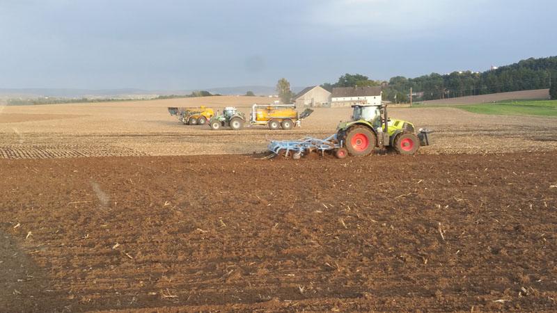 Landwirtschaftliche Dienstleistugen