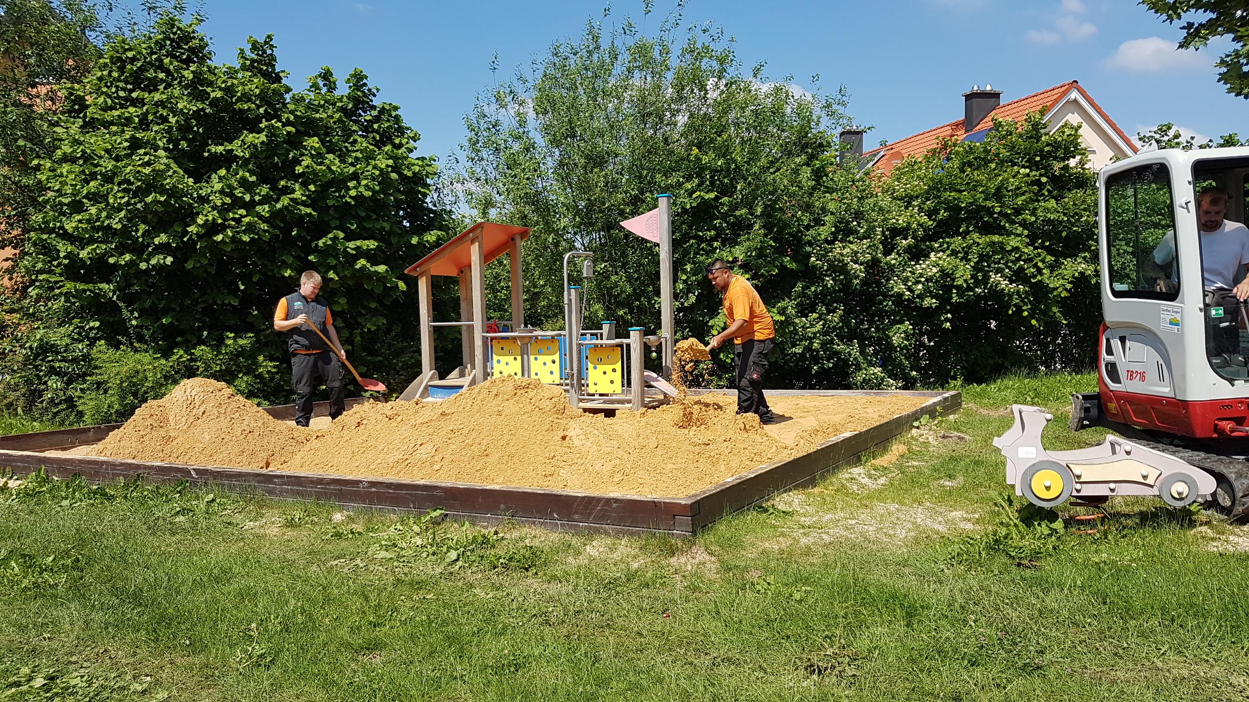 Sandarbeiten